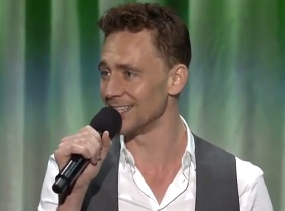 Tom Hiddleston, Bare Necessities, D23