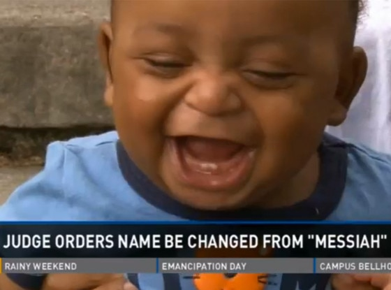 Baby Messiah, Name Change