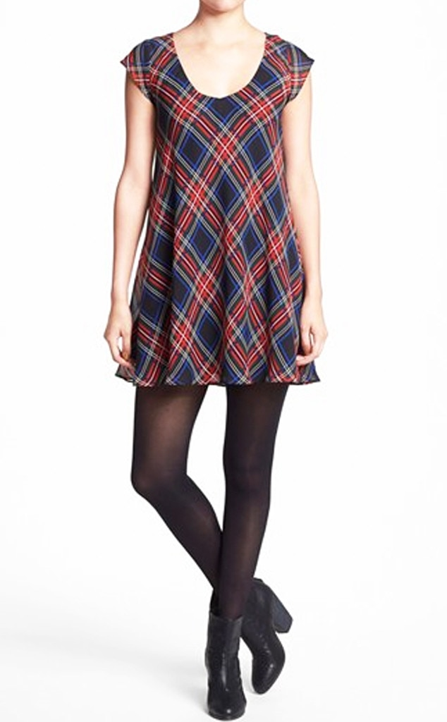 Plaid Products, Tartan Scoop Neck Dress