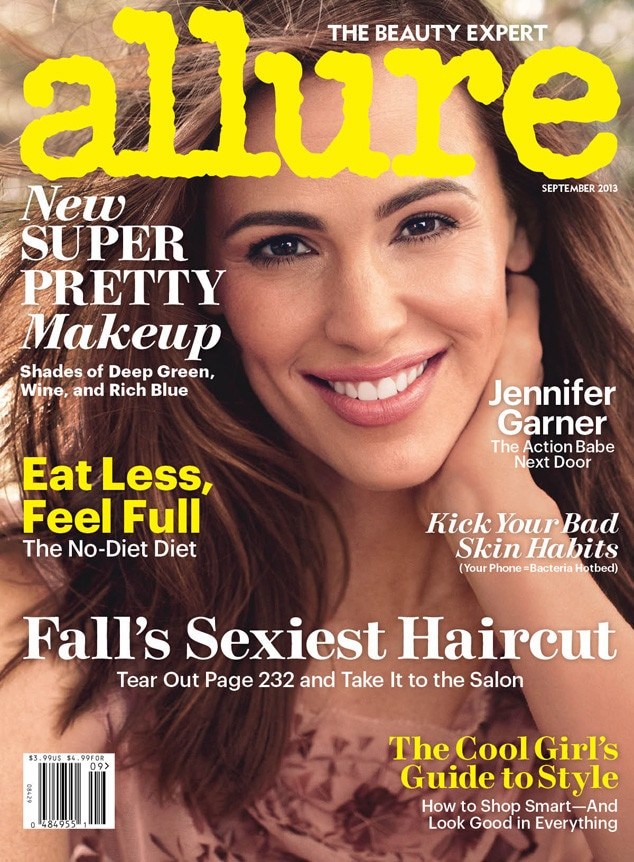 Jennifer Garner, Allure, 8/13/13