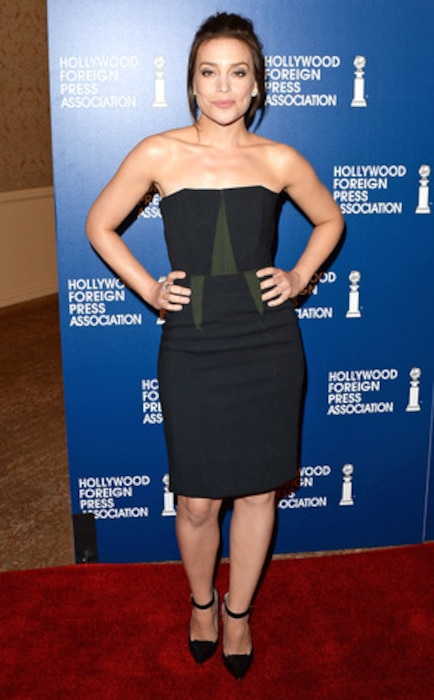 Piper Perabo, HFPA Luncheon