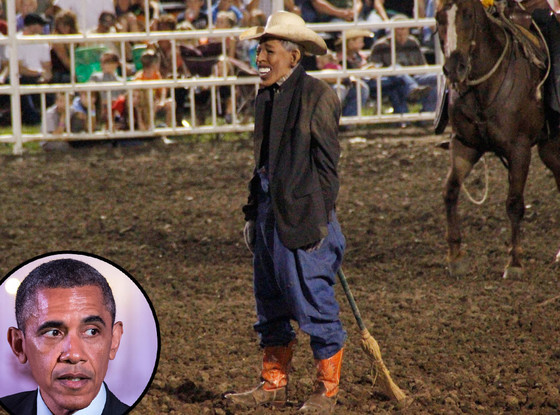 Rodeo Clown Banned From State Fair After Wearing Obama