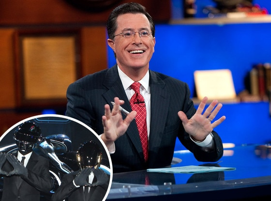 Daft Punk, Stephen Colbert