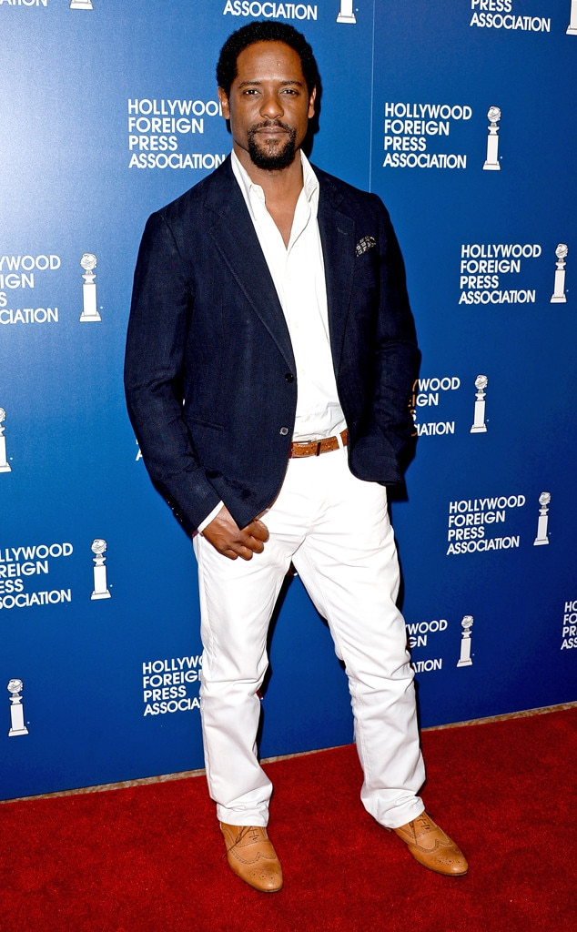 Blair Underwood, HFPA Luncheon