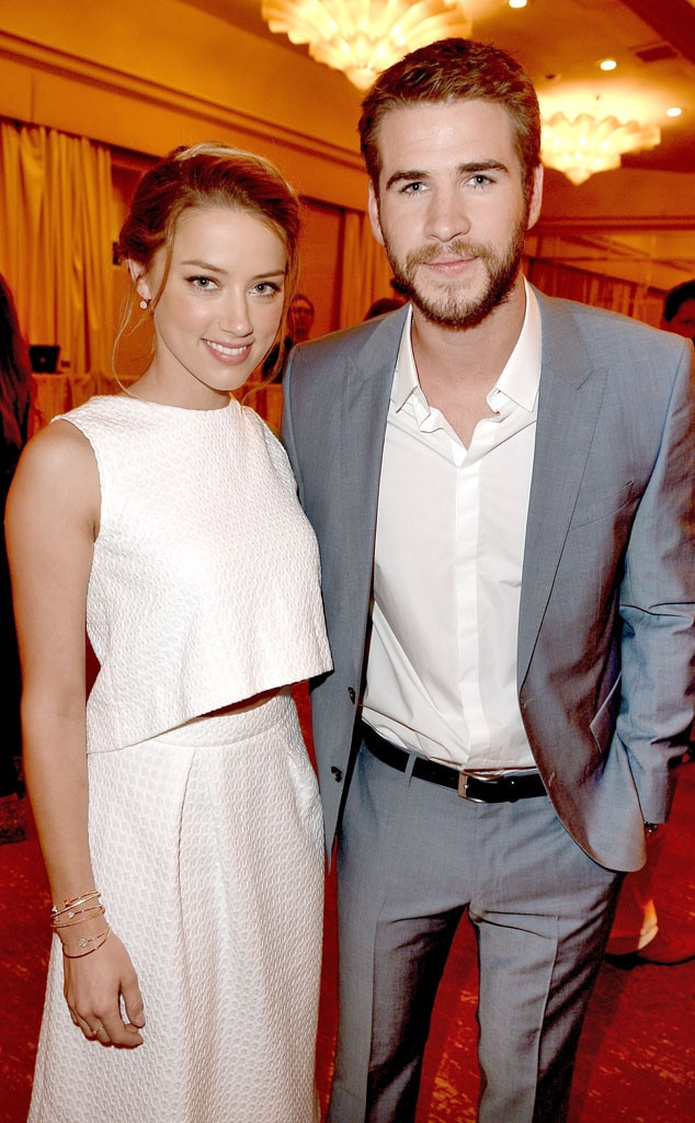 Amber Heard, Liam Hemsworth