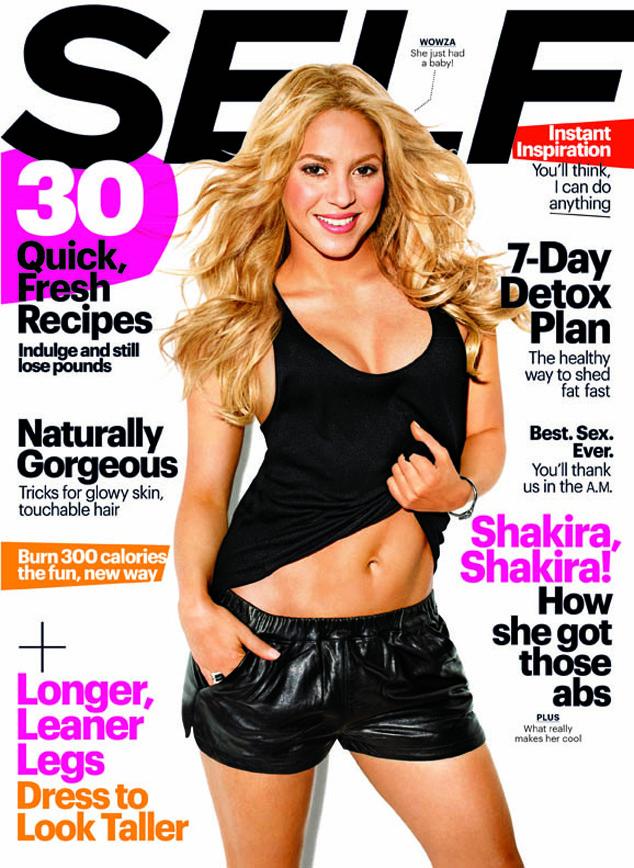 Shakira, SELF Magazine