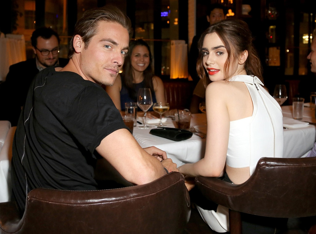Kevin Zegers, Lily Collins