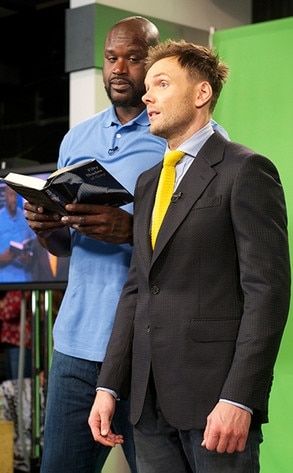 Shaquille O'Neil, Joel McHale, The Soup