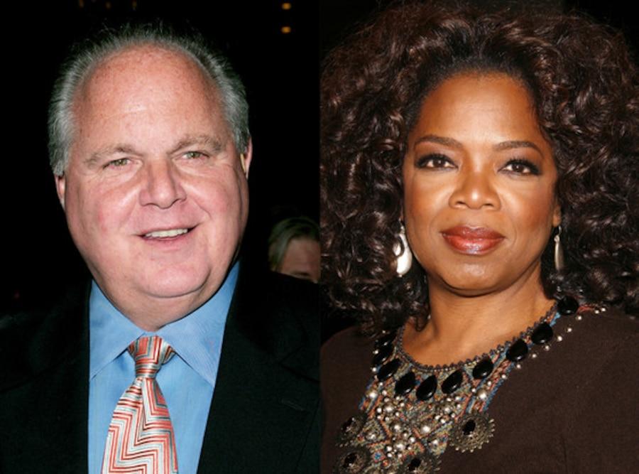 Oprah Winfrey, Rush Limbaugh