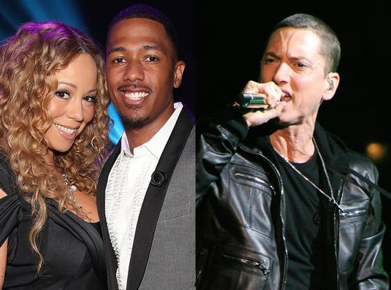 Mariah Carey, Nick Cannon, Eminem