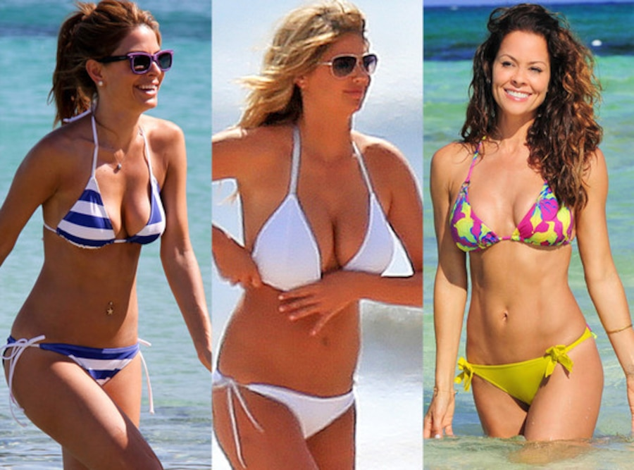 Maria Menounos, Kate Upton, Brooke Burke Charvet, Bikini