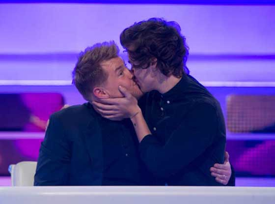 Harry Styles, James Corden