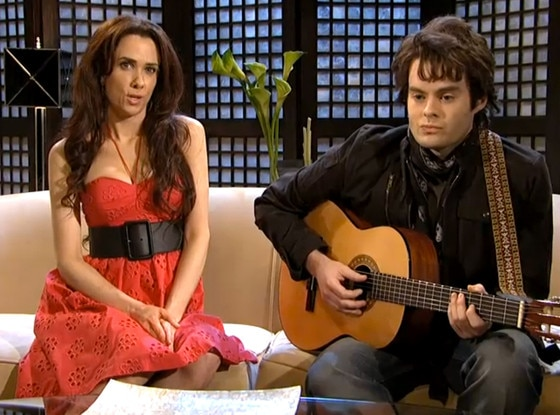 Bill Hader, Kristen Wiig, Saturday Night Live, SNL