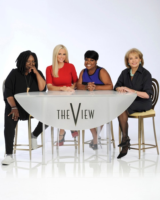 The View Cast, Whoopi Goldberg, Jenny McCarthy, Sherri Shepherd, Barbara Walters