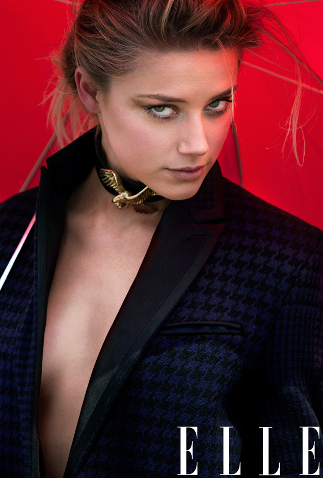 Amber Heard, ELLE September