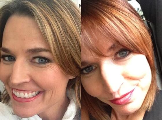 Savannah Guthrie,  Twitter, Red Hair