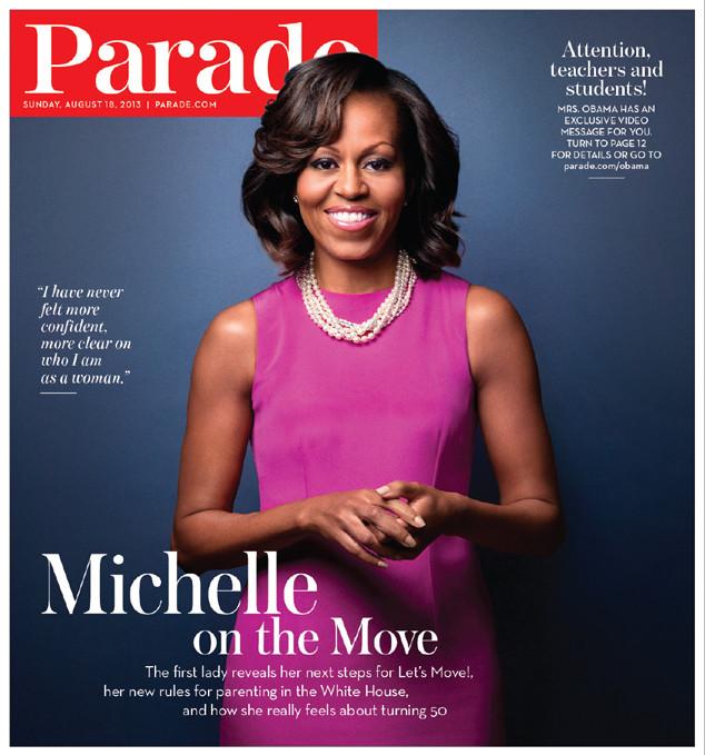 Michelle Obama, Parade Magazine