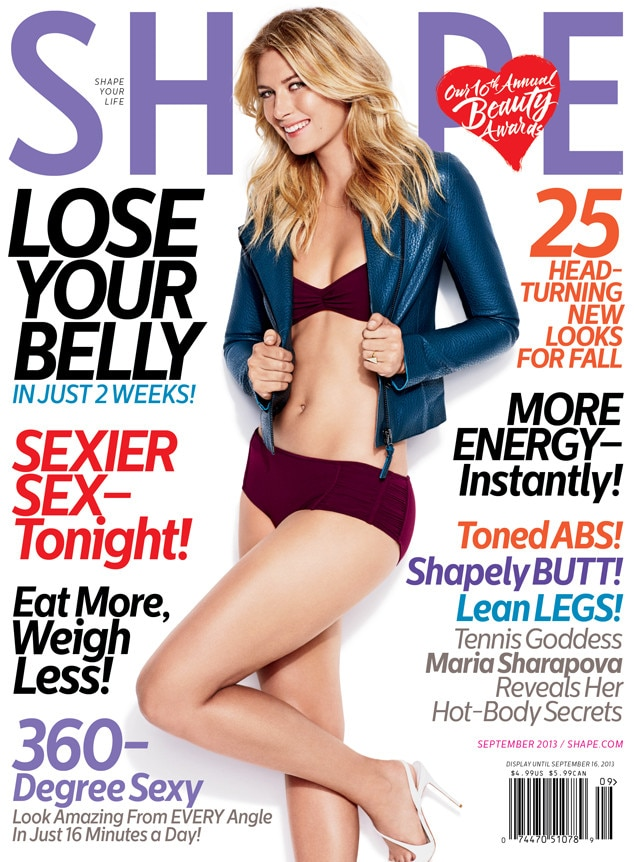 Maria Sharapova, Shape Magazine