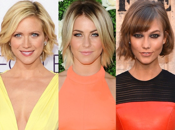 Red Carpet Bob, Brittany Snow, Julianne Hough, Karlie Kloss