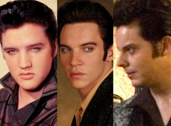 Elvis Presley, Jonathan Rhys Meyers, Jack White
