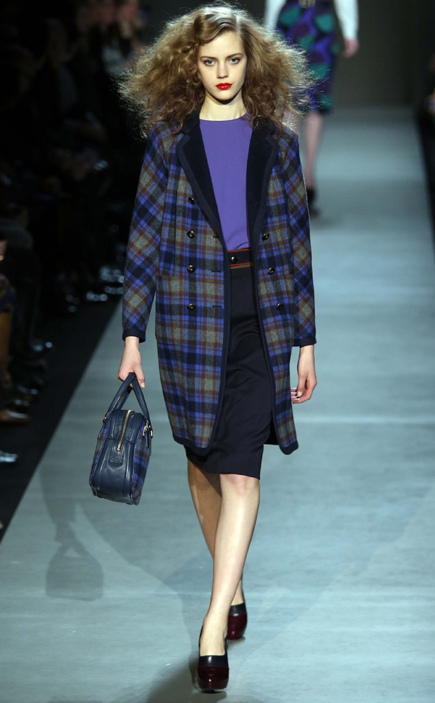 Plaid, Marc by Marc Jacobs show