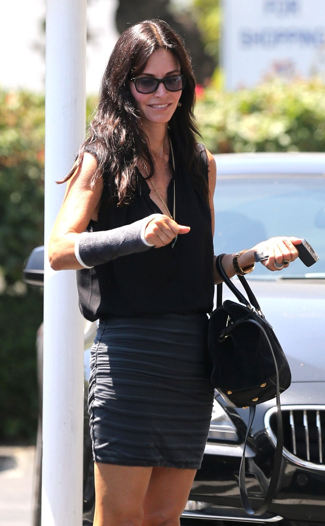 Courteney Cox, Cast