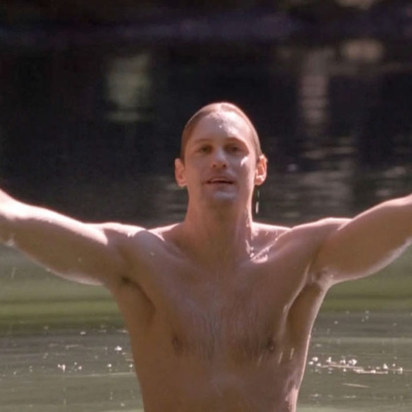 True Hunk From Alexander Skarsg 229 Rd Naked And Shirtless E