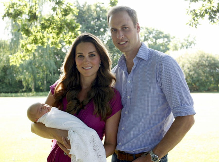 Prince George, Prince William, Duchess of Cambridge, EMBARGOED 4pm PT