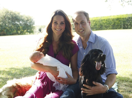 Prince George, Prince William, Duchess of Cambridge