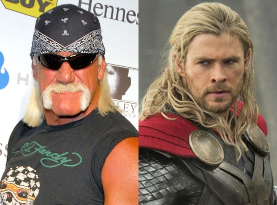 Hulk Hogan, Chris Hemsworth, Thor