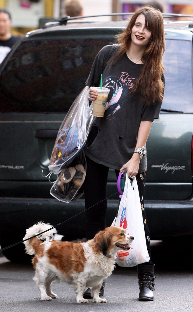 Mischa Barton, Adopted Dogs