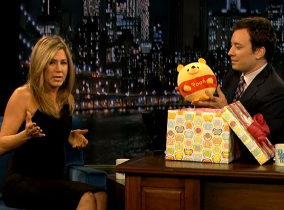 Jennifer Aniston, Jimmy Fallon