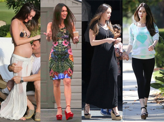 Megan Fox, Maternity Looks