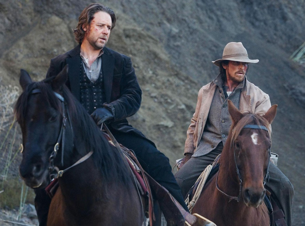 Russell Crowe, Christian Bale, 3:10 to Yuma