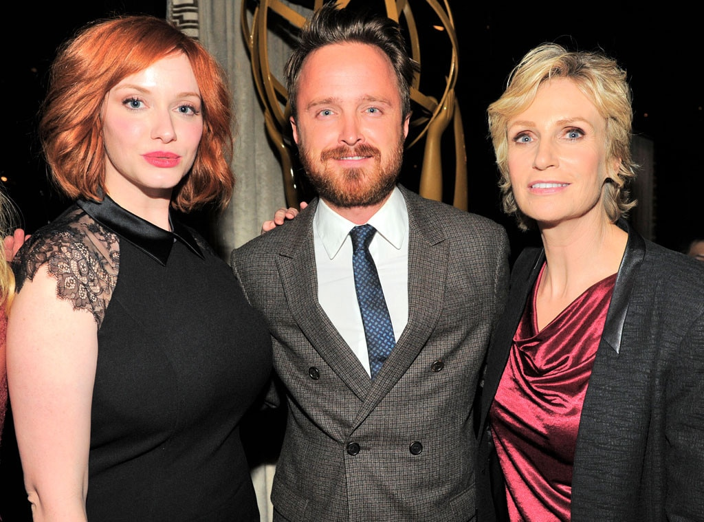 Christina Hendricks, Aaron Paul, Jane Lynch