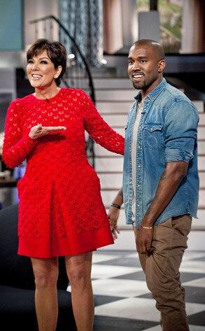 Kris Jenner Show, Kanye West