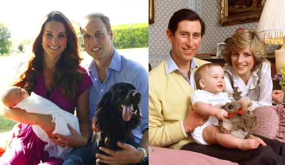 Prince William And Kate Baby George