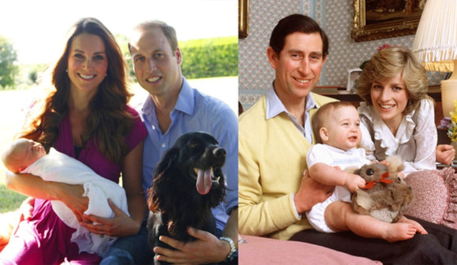 Duchess Catherine, Kate Middleton, Prince George, Prince Charles, Princess Diana, Prince William