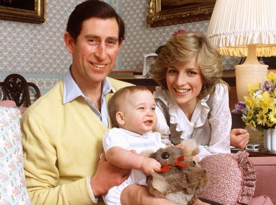 Prince Charles, Princess Diana, Prince William