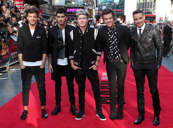 One Direction, Louis Tomlinson, Zayn Malik, Niall Horan, Harry Styles, Liam Payne