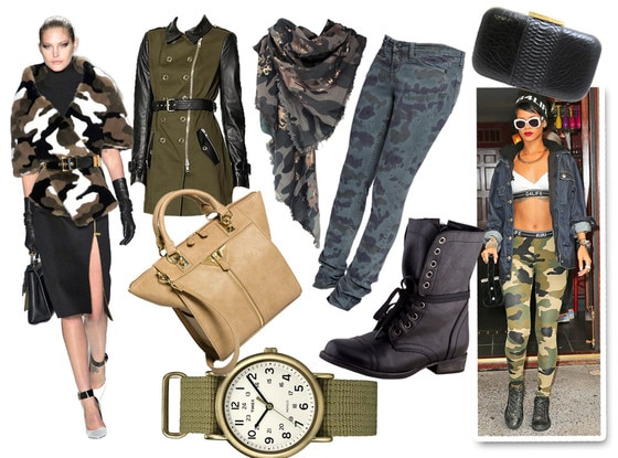 Military Collage Trend