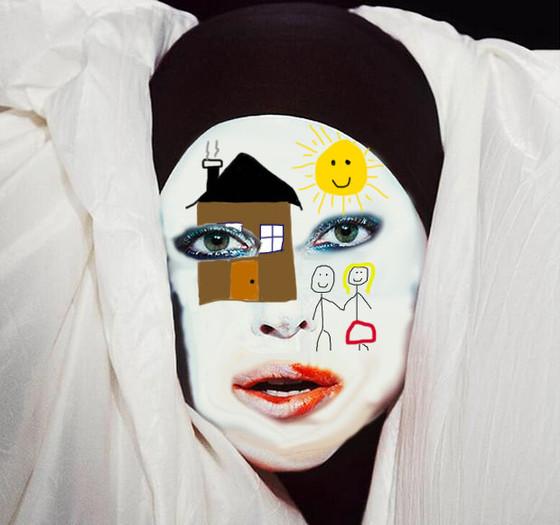 Gaga Face Paint 1