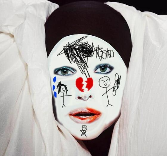 Gaga Face Paint 3