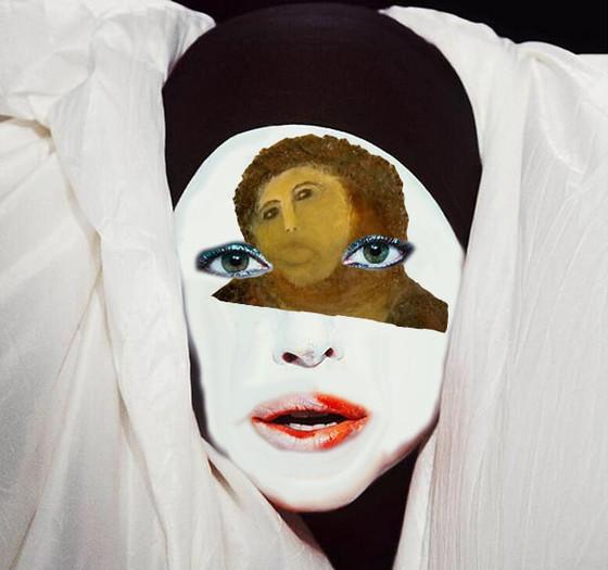 Gaga Face Paint 4