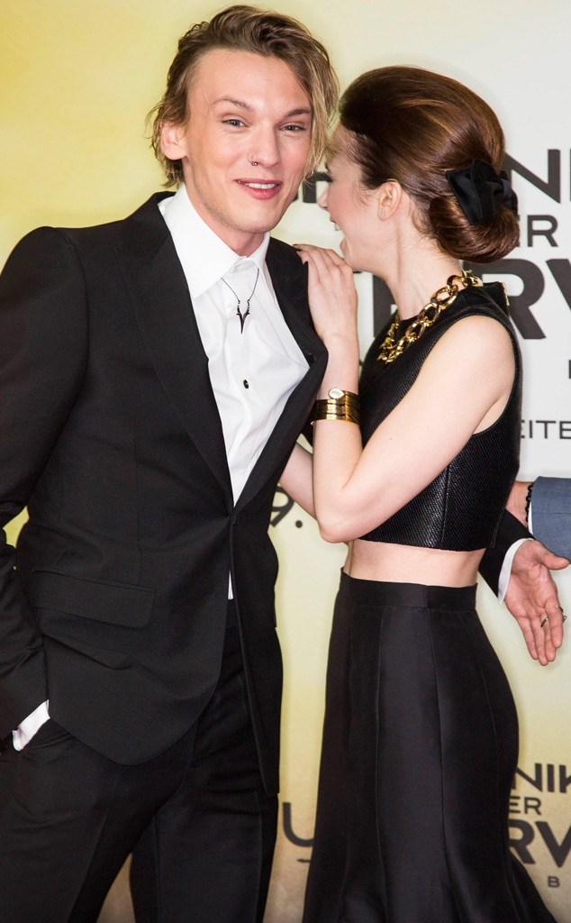 Jamie Campbell Bower, Lily Collins