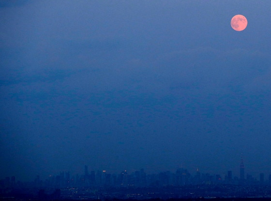 Blue Moon, New York City Skyline