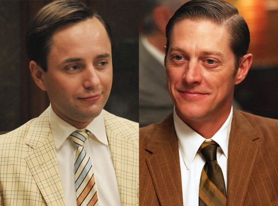 Vincent Kartheiser, Kevin Rahm, Mad Men