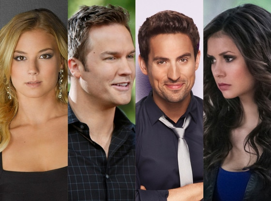 Emily Vancamp, Revenge  Scott Porter, Hart of Dixie Ed Weeks, Mindy Project Nine Dobrev, The Vampire Diaries