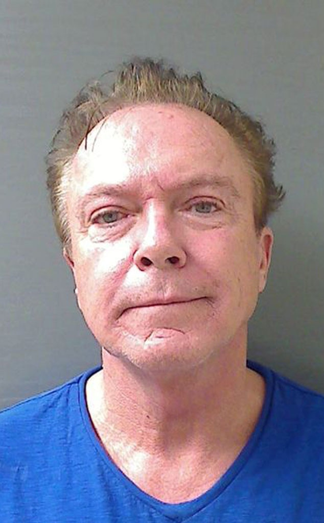 David Cassidy, Mugshot, Mug Shot
