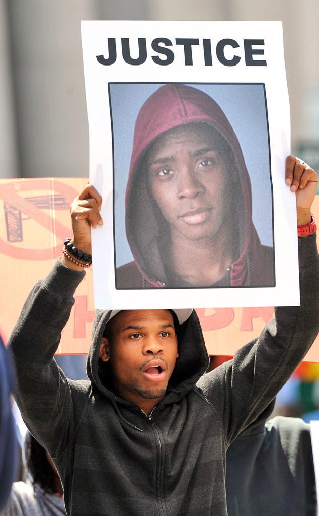 Law & Order: SVU, BTS, Trayvon Martin